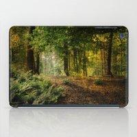 woodland iPad Cases featuring Woodland by ZenaZero