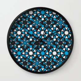 Al-Nasir - Blue and Grey Wall Clock