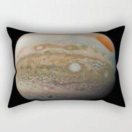 Planet Jupiter Deep Space Probe Telescopic Photograph No. 2 Rectangular Pillow