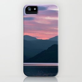 Majestic Skies | Musical Crime Productions | Highland Photography | Bonnie Banks of Loch Lomond iPhone Case