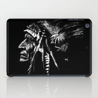 native american iPad Cases featuring Native American by Sandy Elizabeth