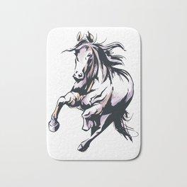 Wild Stallion Horse Bath Mat