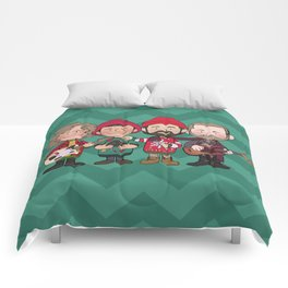A Killers Holiday Comforters