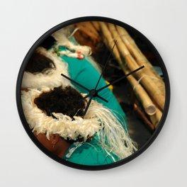 bora boys drumming heads Wall Clock