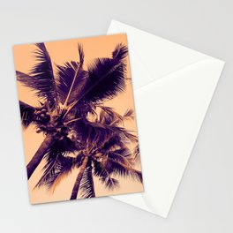 Palm Trees Vintage Stationery Cards