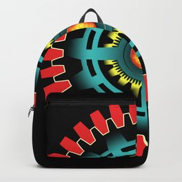 Abstract mechanical object Backpack