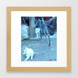 the angle who hopes for your attention who you hope God protected (2) #104 Framed Art Print
