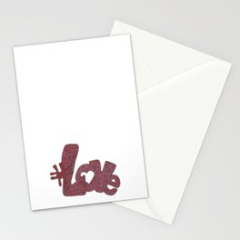 #Love Stationery Cards