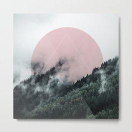 Foggy Woods 2 Metal Print