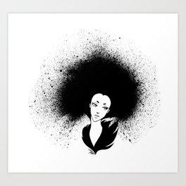 INKY Art Print