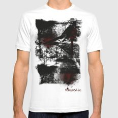 Ransom MEDIUM White Mens Fitted Tee