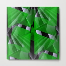 3D abstraction -07- Metal Print