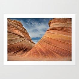 The Wave #1 - Arizona Art Print