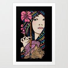 Tribal Artist Art Print