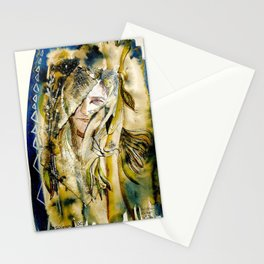 Golden Collar Stationery Cards