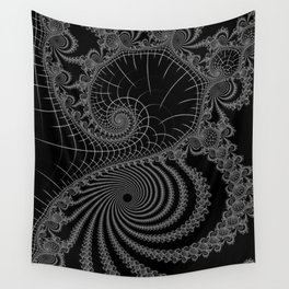 Peaks And Troughs 1 Inverted Wall Tapestry