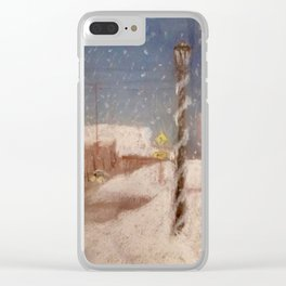 Portland Street Clear iPhone Case