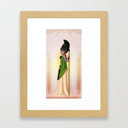 Greek Goddesses - Athena Framed Art Print