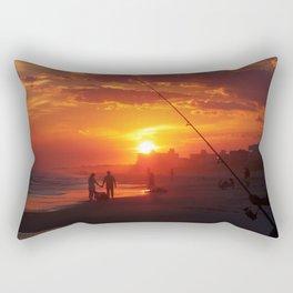 Emerald Isle NC - Sunset #1 Rectangular Pillow