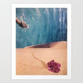 Slide Art Print