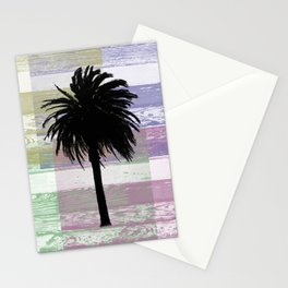 Palm and colors Stationery Cards