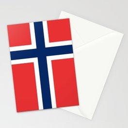 Norwegian Flag Stationery Cards