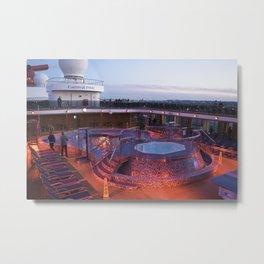Bahamas Cruise Series 33 Metal Print