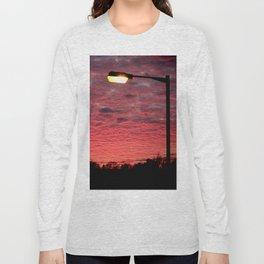 British Winter Sunset Long Sleeve T-shirt