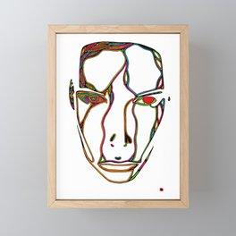 ei stjerne i natta Framed Mini Art Print