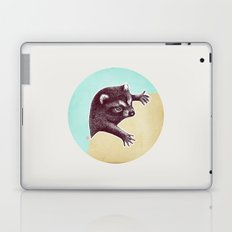 Climbing Raccoon Laptop & iPad Skin