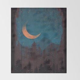 Those Summer Nights... Throw Blanket