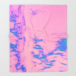 I See Beauty - Orchid Crush Throw Blanket