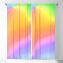 Bright Prismatic Rainbow Design! Blackout Curtain