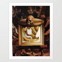 death persuades  Art Print