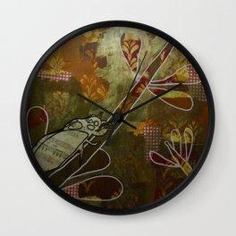 Cicada Music Wall Clock