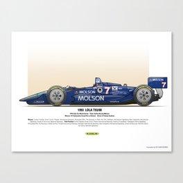 #7 LOLA - 1993 - T9300 - Sullivan Canvas Print