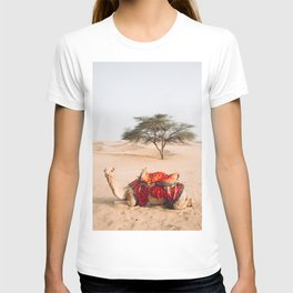 Camel in the Thar Desert in Rajasthan, India   Travel Photography   T-shirt
