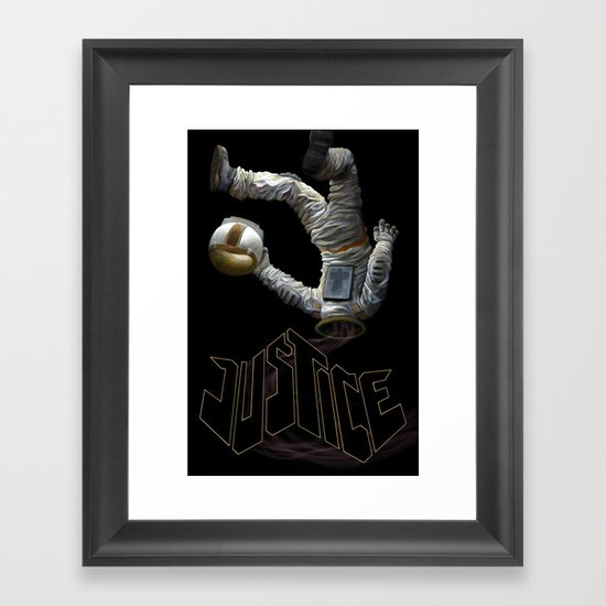 Justice-Planisphere Framed Art Print