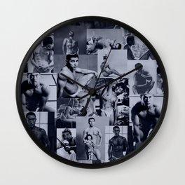 Asian Beefcake: Tamotsu Yato Wall Clock