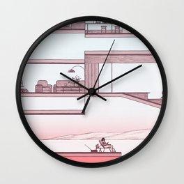 Sunday Wall Clock