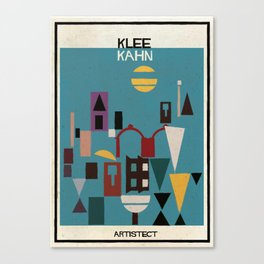 klee+kahn Canvas Print