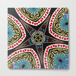 Starry Eyed Metal Print