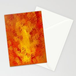 Precious Metals, Gold, Copper, Bronze and Red Stationery Cards