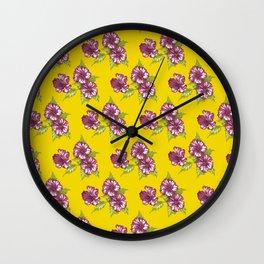 Jessica Yellow Wall Clock