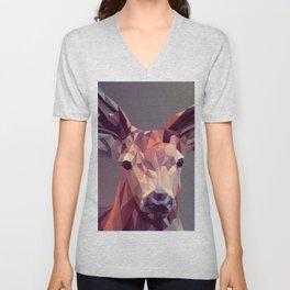 Deer geometric new Unisex V-Neck