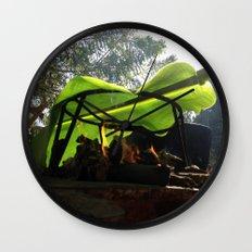 Bijao para la vida / Bijao for life Wall Clock