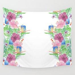 Malia's Tropical Print Wall Tapestry