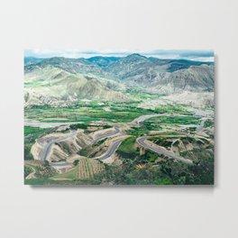 Panamericana (Ecuador) Metal Print