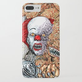 Horror mash iPhone Case