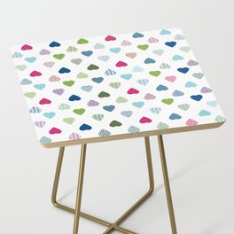 AFE Colorful Hearts Side Table